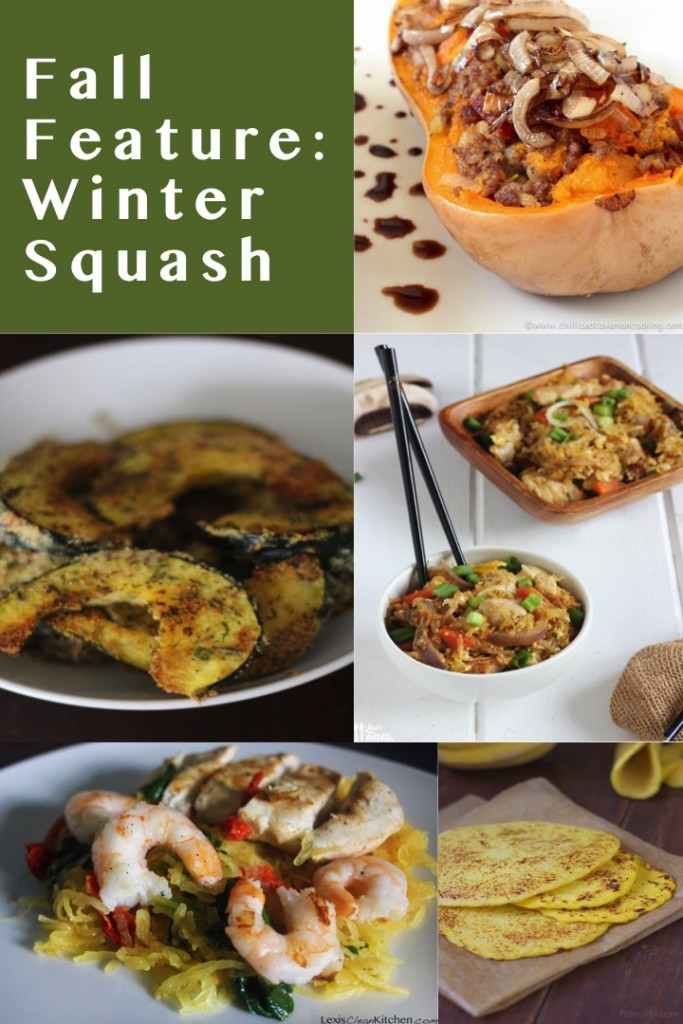 PAleo Winter Squash Recipes
