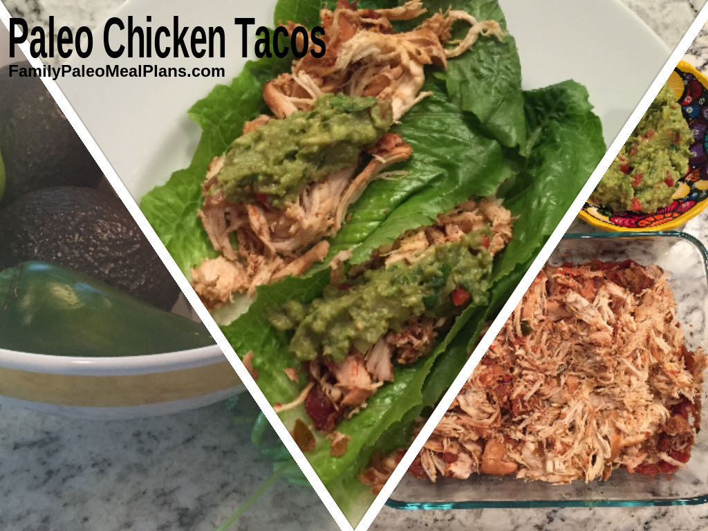 Paleo Chicken Taco REcipe