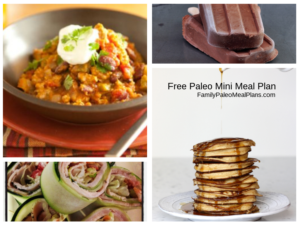Free Paleo Meal Plans